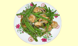 GREEN BEAN SHRIMP